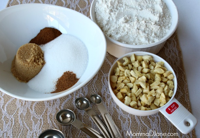 Apple Muffin Ingredients