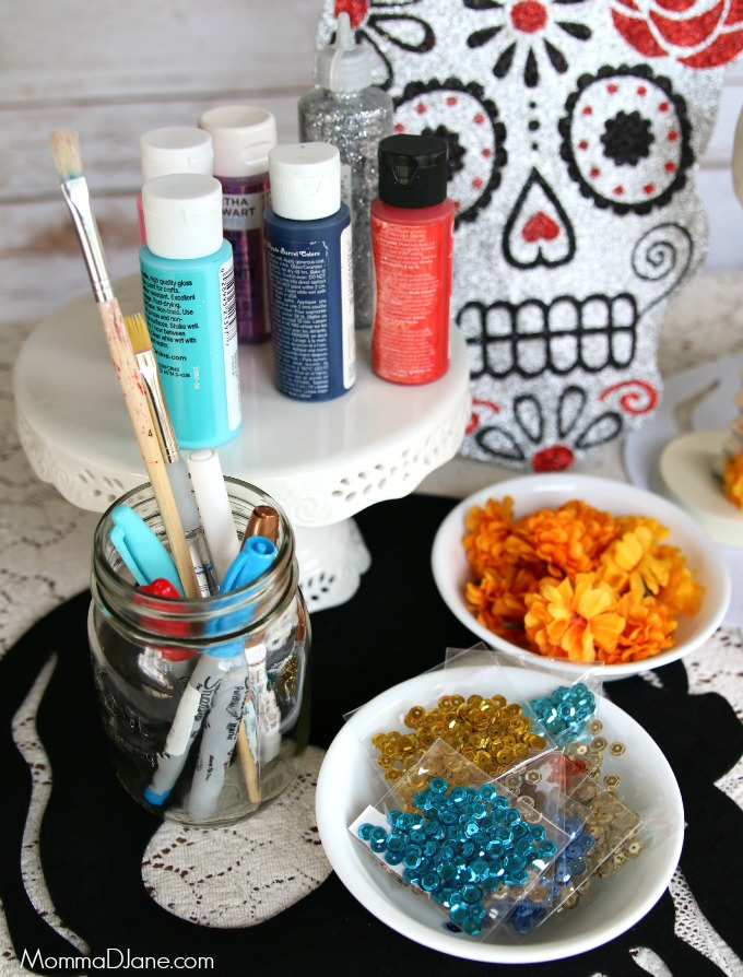 Day of the Dead Craft Station