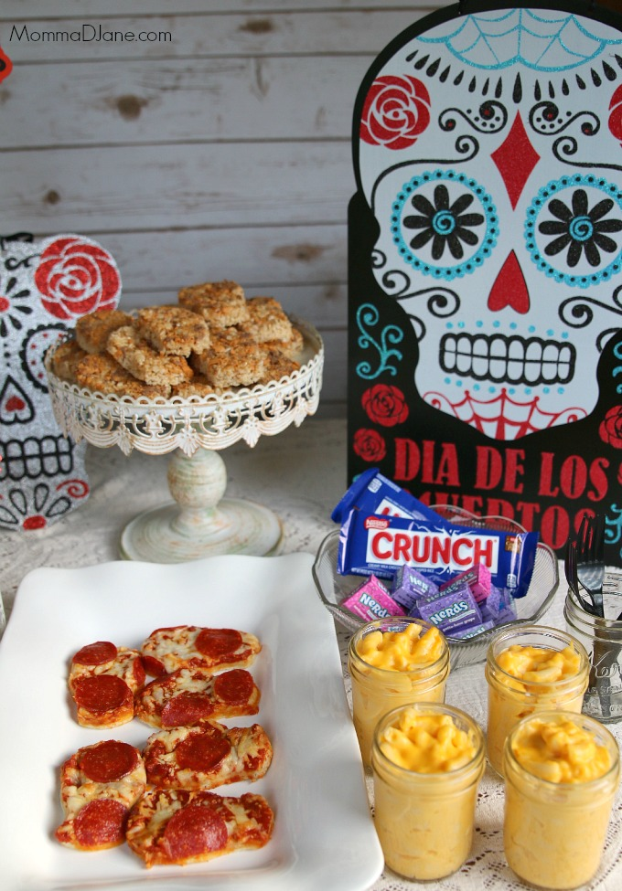 Day of the Dead Party Table Display