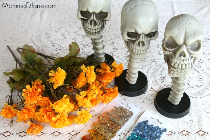 Day of the Dead Skull Supplies