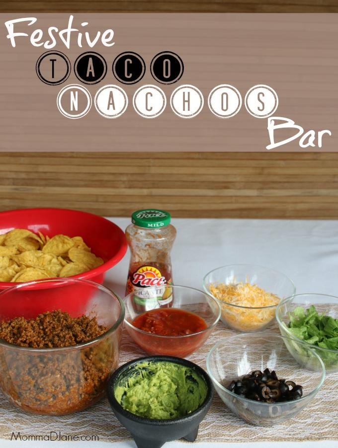 Festive Taco Nachos Bar