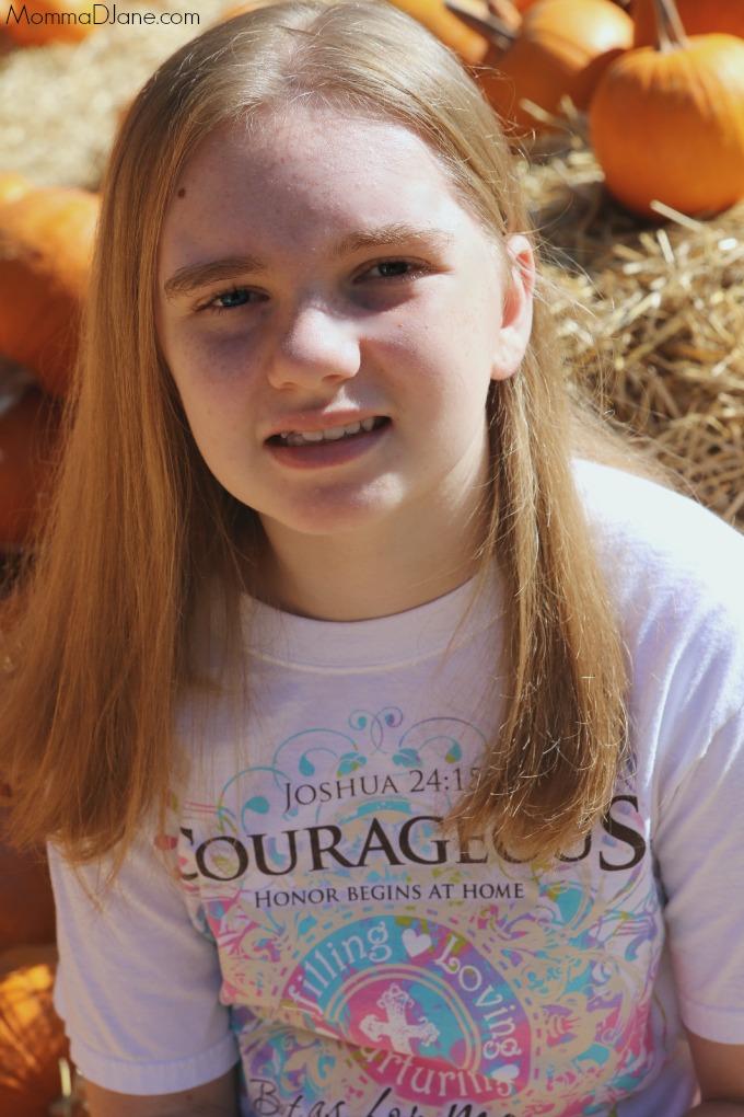 Gabby at Pumpkin Patch