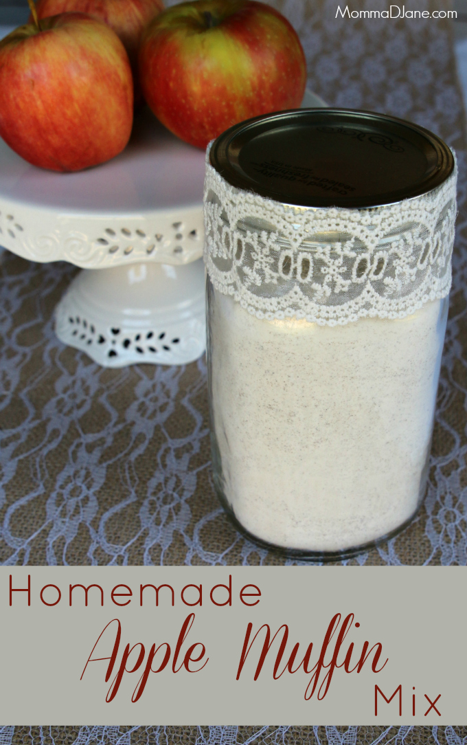 Homemade Apple Muffin Mix