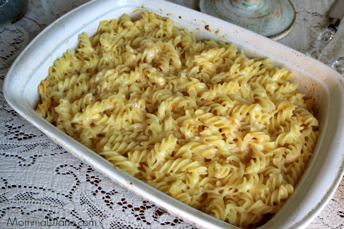 Homemade Five Cheese Macaroni