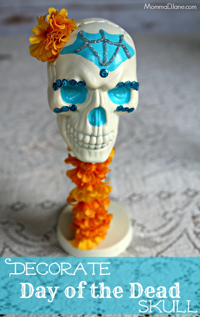 How to Decorate Day of the Dead Skull