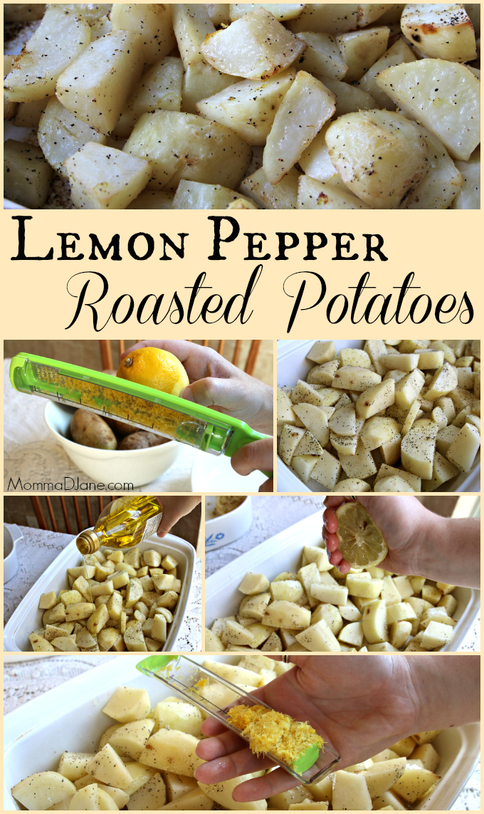 Lemon Pepper Roasted Potatoes