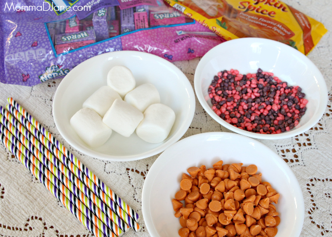 Nerds Covered Marshmallows Ingredients