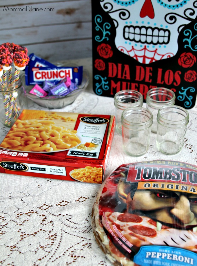 food for Day of the Dead party