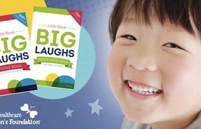 Children's Joke Books Raise Funds to Pay for Child Medical Expenses