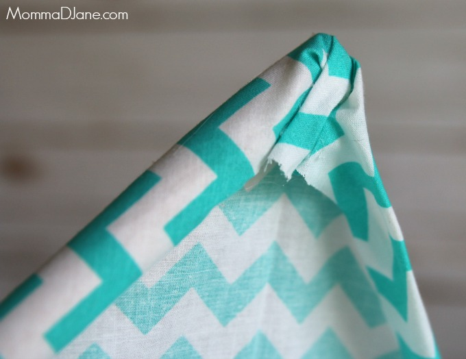 wrap and glue fabric for teepee