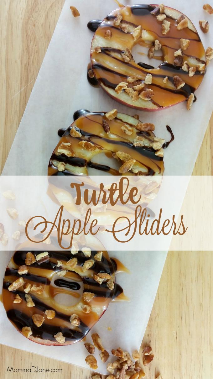 Turtle Apple Sliders