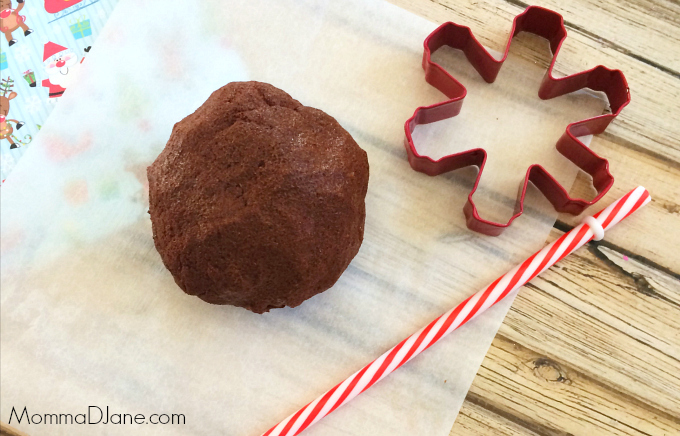 cinnamon snowflake ornament dough