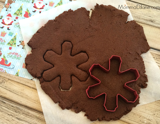 snowflake cookie cutter ornament