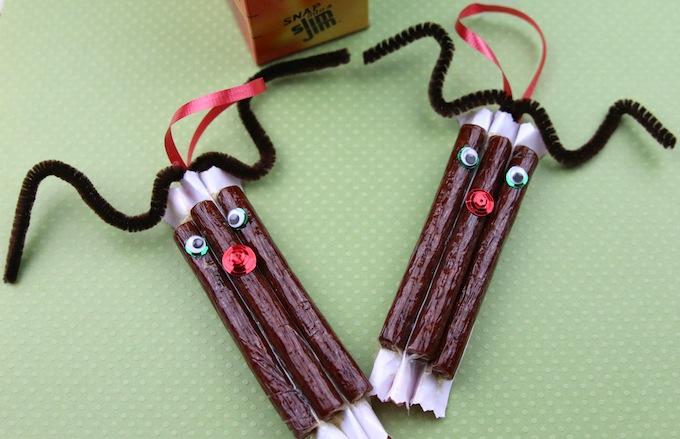edible reindeer christmas ornament craft