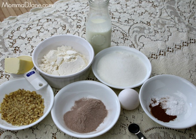 Brownie Cake Ingredients