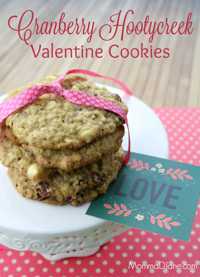 Cranberry Hootycreek Valentine's Day Cookies Recipe