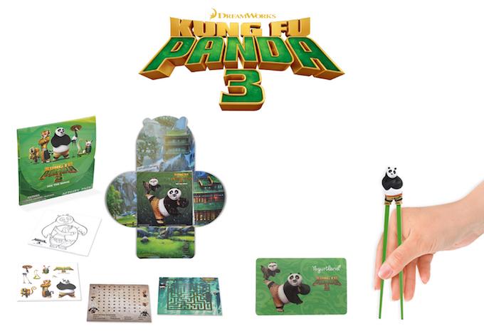 Kung Fu Panda 3 Prize Pack