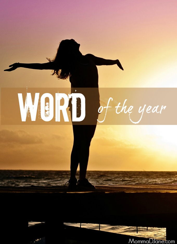 One Word of the Year