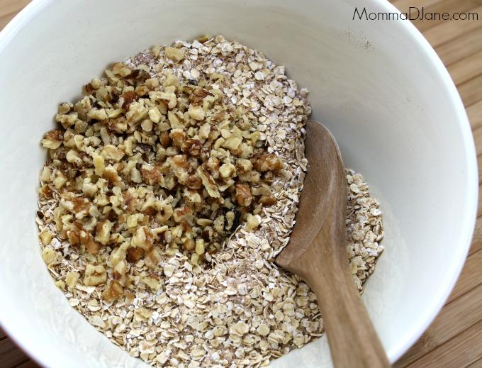 add walnuts to oatmeal