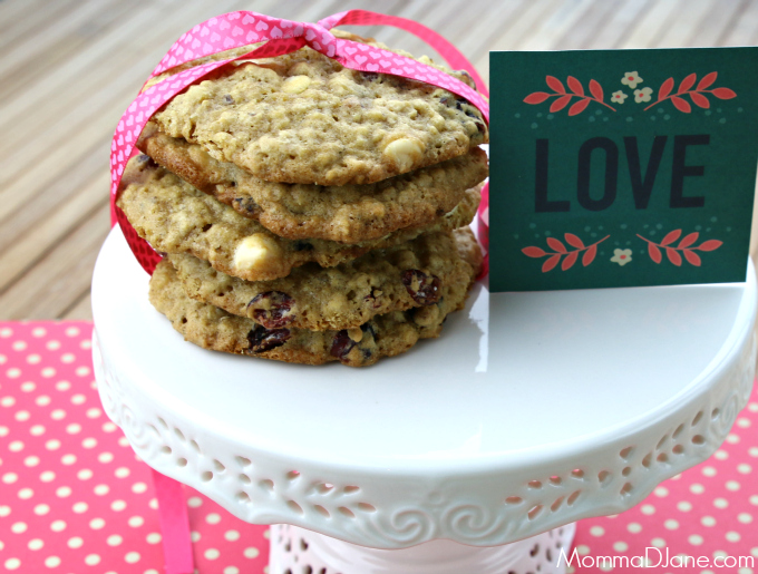 cranberry hootycreeks - valentine day cookie recipe