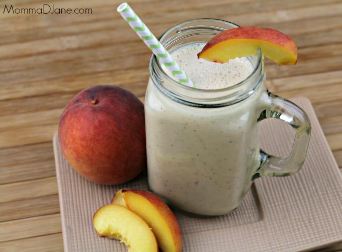 Dairy Free Peach Mango Smoothie