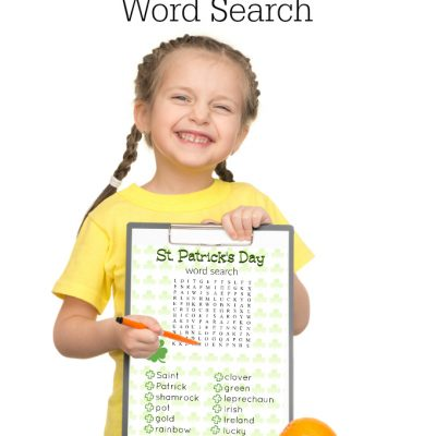 Printable St. Patrick's Day Word Search