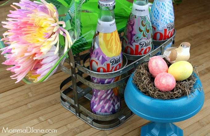 frugal spring centerpiece supplies