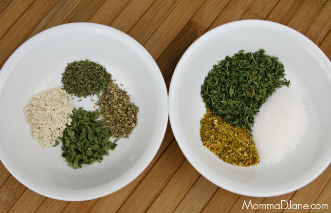 homemade ranch ingredients