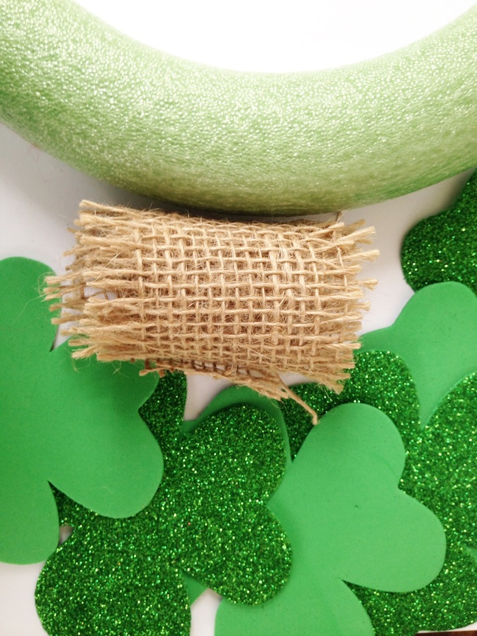 St. Patrick's Day Wreath Supplies