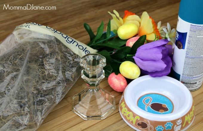 spring centerpiece supplies