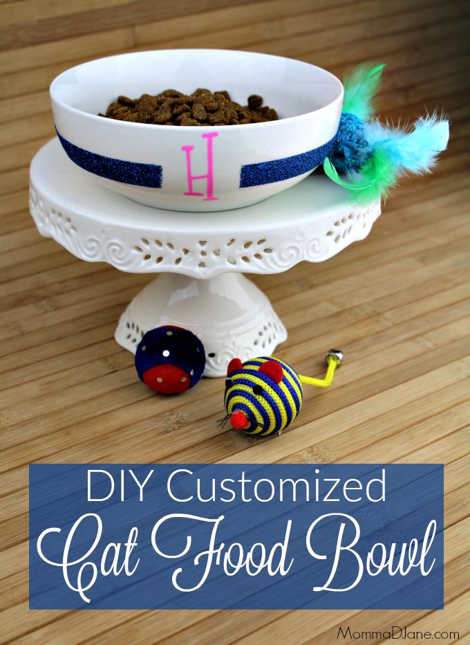 DIY Customized Cat Food Bowl