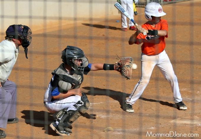 Jagger as catcher