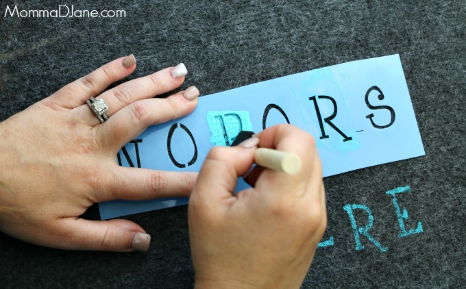 stencil words