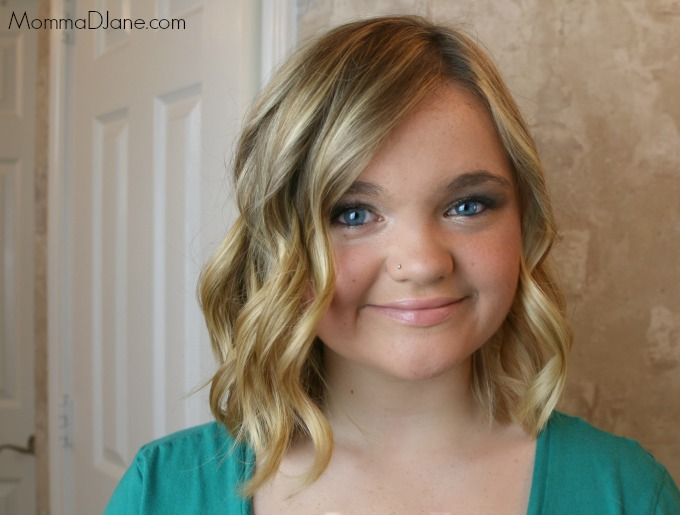 Beach Wave Hairstyle Front