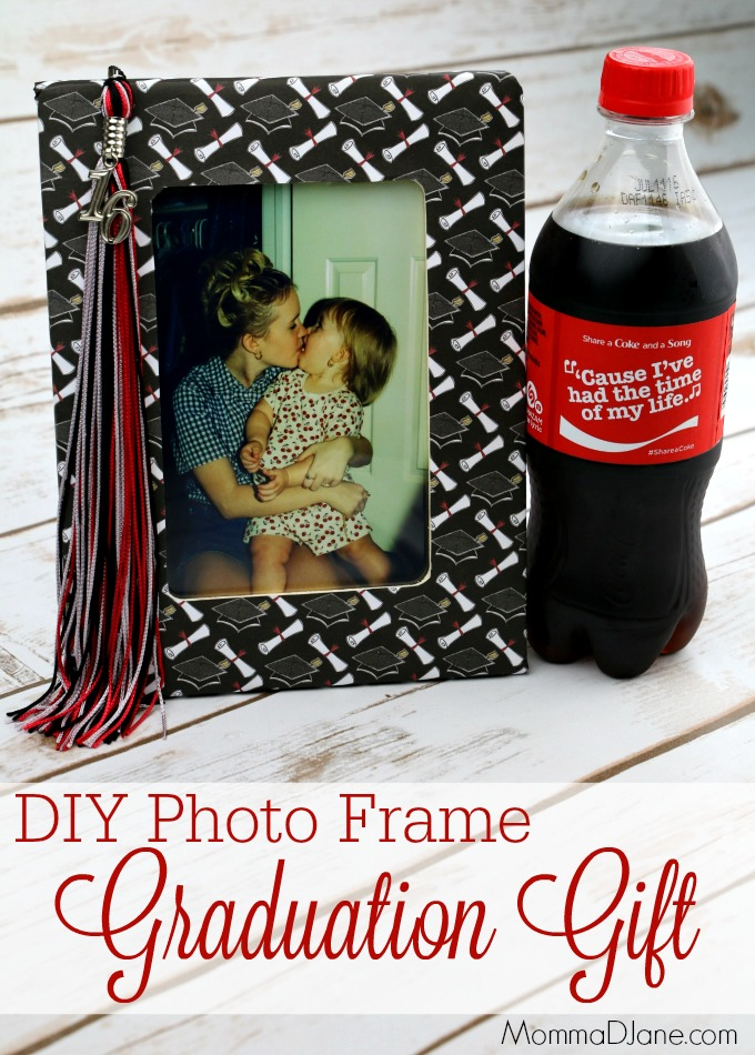 DIY Photo Frame Graduation Gift