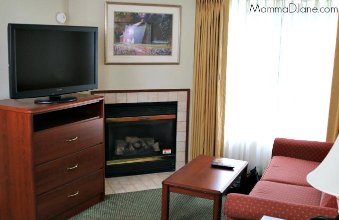 Homewood Suites Living Room
