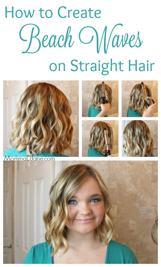 How to Create Beach Waves on Straight Hair