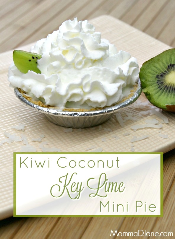 Kiwi Coconut Key Lime Pie Mini