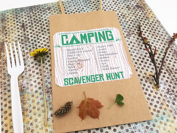 Go on a Camping Scavenger Hunt