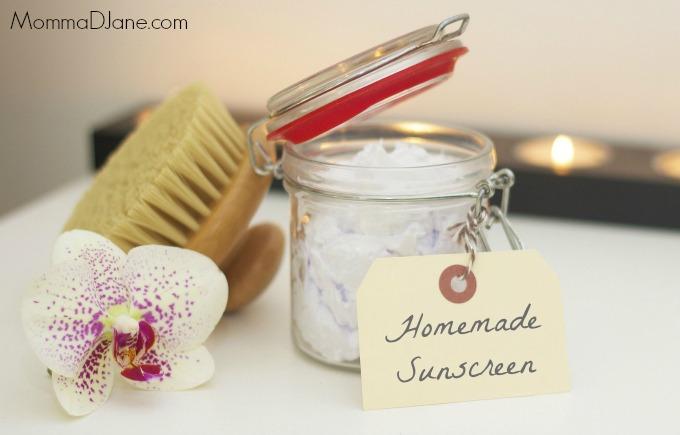Homemade Sunscreen Recipe