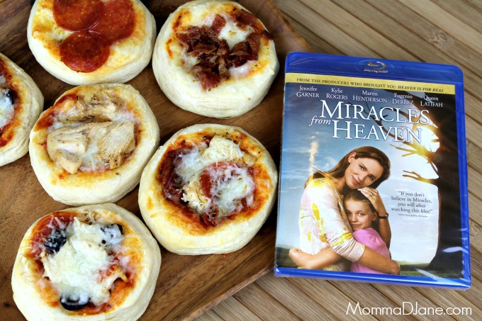 Miracles from Heaven Pizza Night