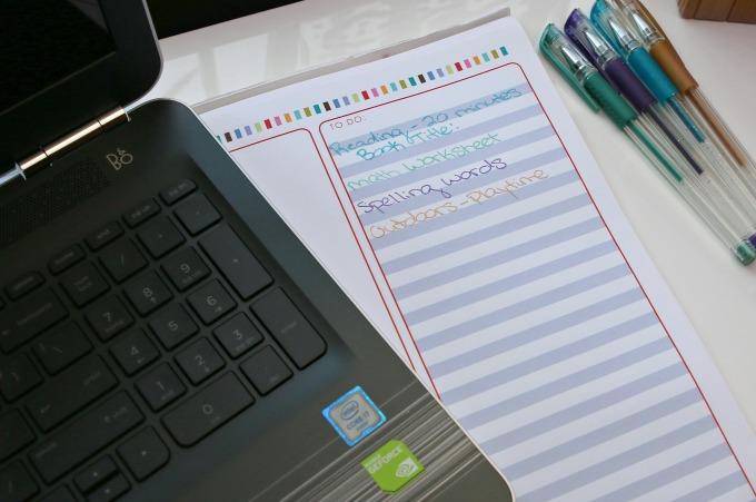 homework list