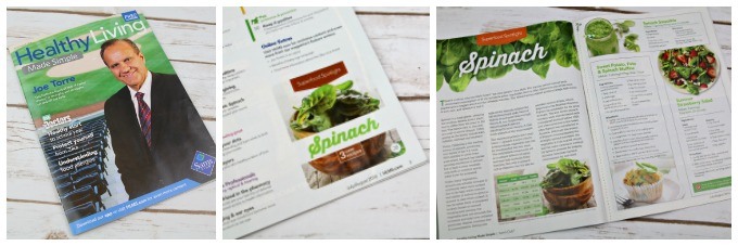 Healthy Living Spinach recipes