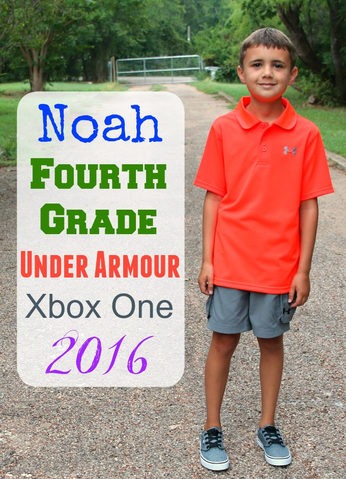 Noah's First Day of School 2016