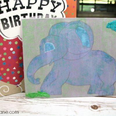 Tissue Paper Art – DIY Craft for Kids
