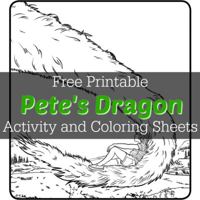 Pete's Dragon Activity and Coloring Sheets – Free Printable