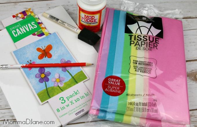 Tissue Paper Art Supplies