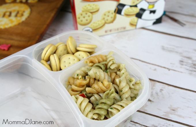 add pasta salad
