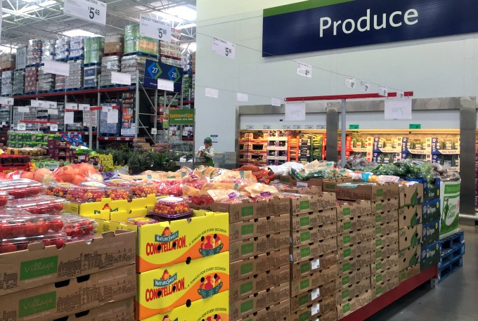 produce in store photo