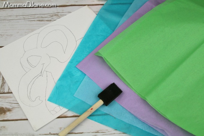 select tissue paper color
